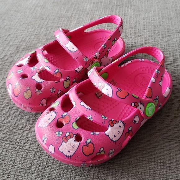 a30b7660de36 CROCS Other - Hello Kitty Shayna Crocs